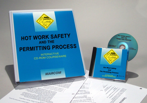 10020_hot-work-cdrom Hot Work Safety and the Permitting Process - Marcom LTD