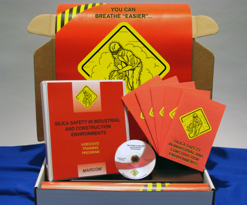 10428_silica-kit Silica Safety in Industrial and Construction Environments - Marcom LTD