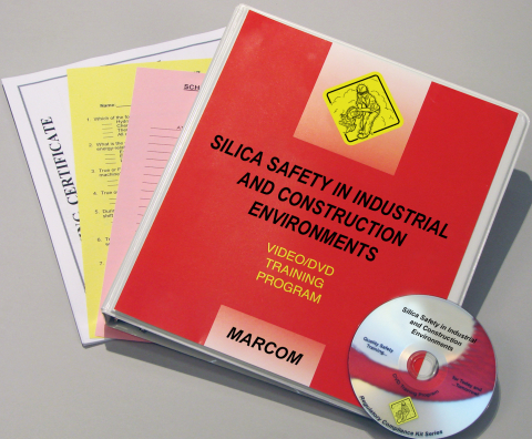 10429_silica-dvd Silica Safety in Industrial and Construction Environments - Marcom LTD
