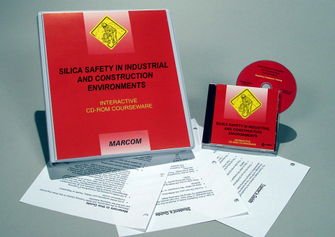 10430_silica-cd-rom Silica Safety in Industrial and Construction Environments - Marcom LTD