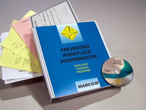 10475_discrimination-dvd Preventing Workplace Discrimination for Managers and Supervisors - Marcom LTD