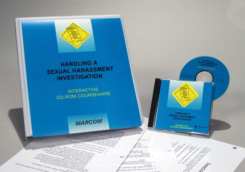 8042_c0000490ed Handling a Sexual Harassment Investigation - Marcom LTD