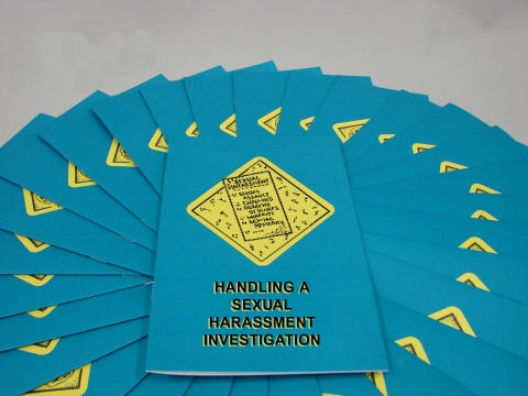 8045_b0000490em Handling a Sexual Harassment Investigation - Marcom LTD
