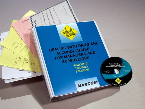 8067_v0000539em Drug and Alcohol Abuse for Managers and Supervisors - Marcom LTD