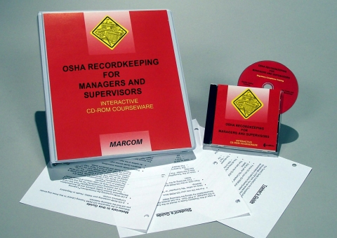 8332_c0002430ed OSHA Recordkeeping for Managers and Supervisors - Marcom LTD