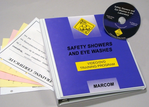 8857_v0002039el Safety Showers and Eye Washes in the Laboratory - Marcom LTD