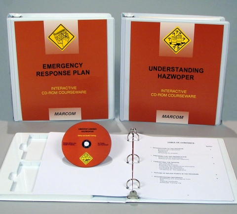 9032_c000hz60ed HAZWOPER: Emergency Response, Awareness Package - Marcom LTD