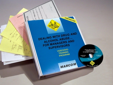 9567_v0001519et Drug and Alcohol Abuse for Managers and Supervisors in Construction Environments - Marcom LTD