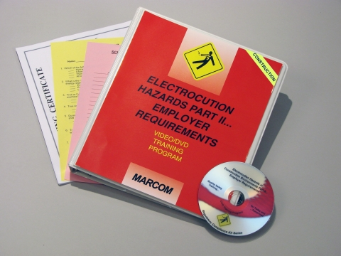 9587_v0001539et Electrocution Hazards In Construction Environments Part II... Employer Requirements - Marcom LTD