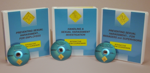 9921_c0000510ed Sexual Harassment in the Workplace Package (all 3 programs) - Marcom LTD