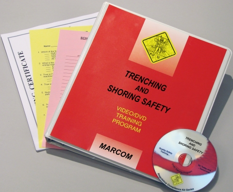 9952_trenching-dvd Trenching and Shoring Safety in Construction Environments - Marcom LTD